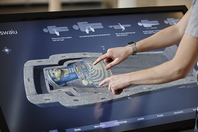 interactive multi-touch table wall