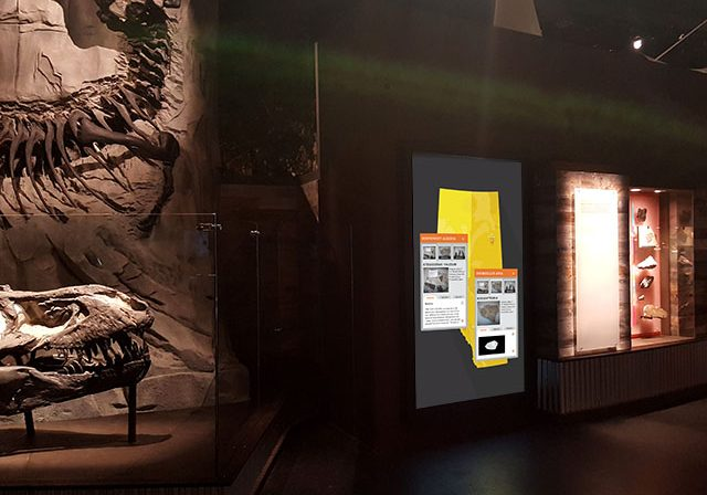 touch screen digital interactive exhibit for museum - immersive digital interactive experience - digital media - museums - exhibits - galleries - interpretive centres
