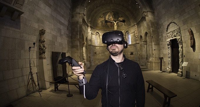 VR - Virtual Reality for Museums and Interpretive Centres - Visitor Centres